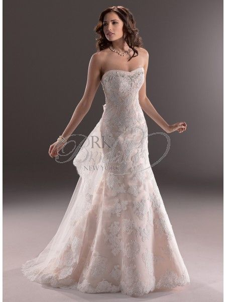 Maggie Sottero Fall 2013 - Style 3MW753 Athena Gown Only