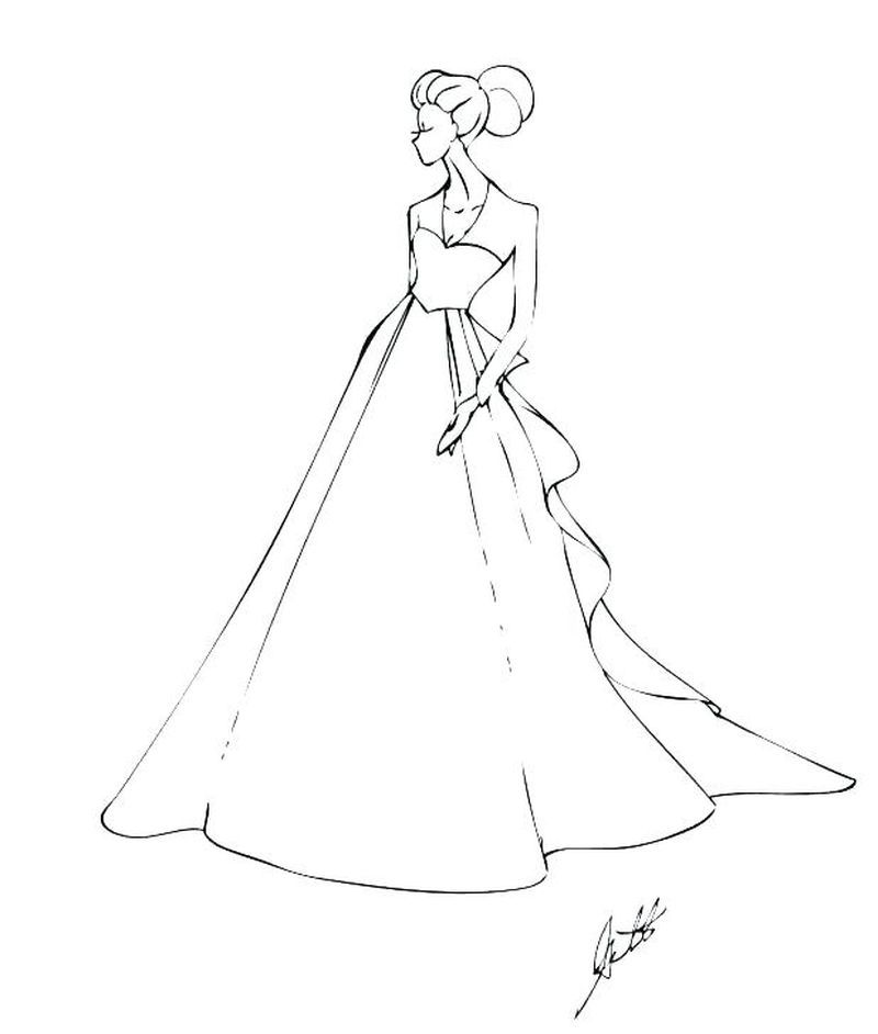 Wedding Dress Coloring Pages Free A Wedding Is A Ceremony And Its Associated Rituals By Whi Wedding Coloring Pages Best Wedding Colors Free Wedding Printables