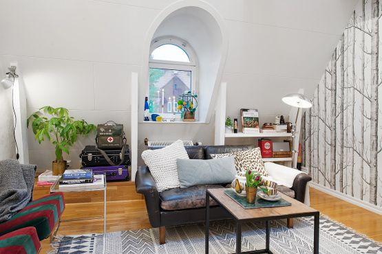 50 m² eclécticos y modernos para chicos Living rooms, Room and
