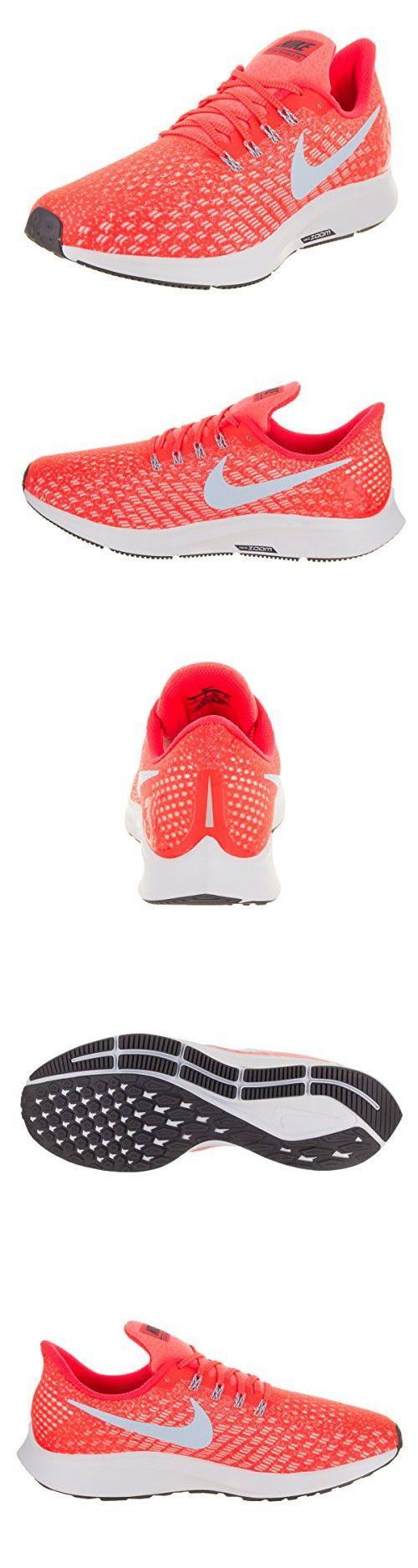 e30e4b1ce NIKE Men's Air Zoom Pegasus 35 Running Shoes (14 D US, Bright Crimson/Ice  Blue/Sail)
