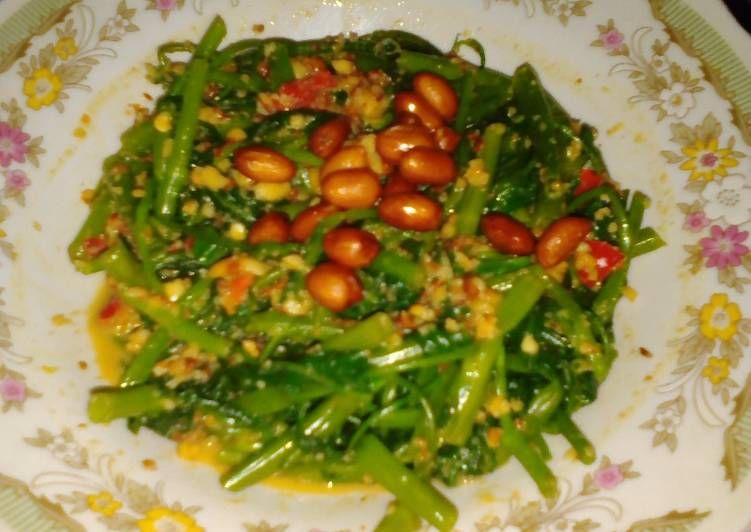 Resep Rujak Kangkung Ala Sunda Oleh Mawar Mwr Kitchen Resep Masakan Resep Masakan Resep