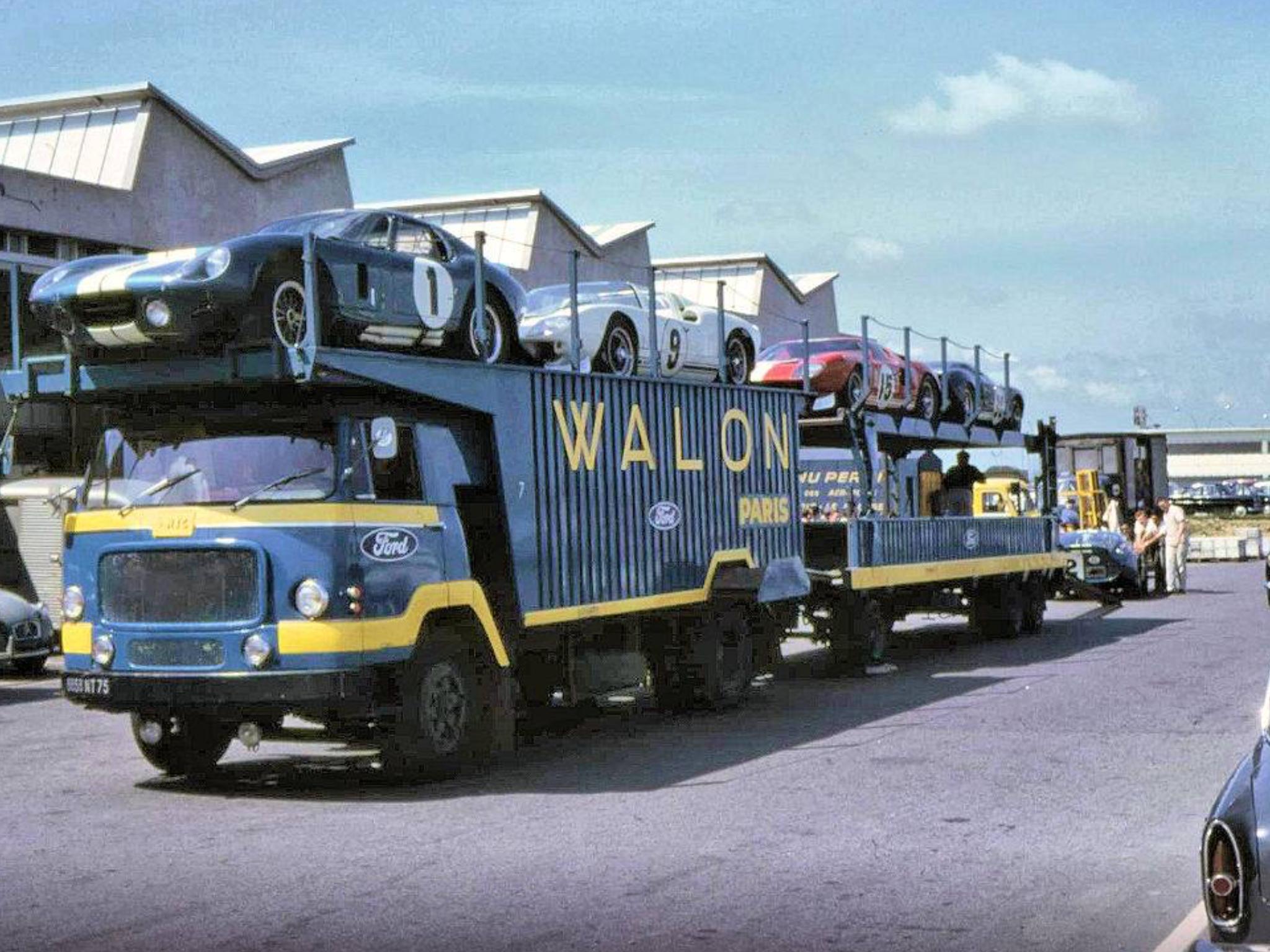Lemans 1965 In 2020 Le Mans Car Trailer Trucks