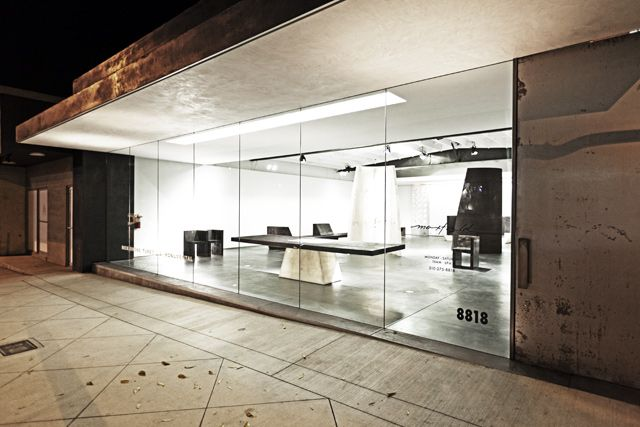 Rick Owens Turbo L A Monumental Furniture Exhibition At Maxfield Gallery Los Angeles Rick Owens Shop Interior Furniture
