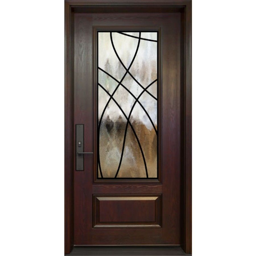 Single Entry Door 3 4 Size London Wrought Iron Design