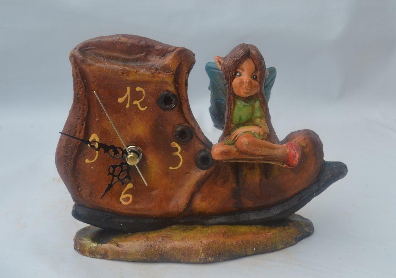 Reloj bota hada Artesanía ALLA Reloj, Hadas, Botas
