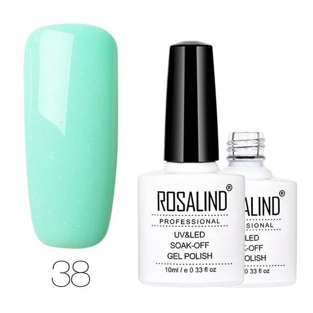 ROSALIND Gel 1 Nagellack 10ml 58 Pure Color Series Langlebiger Maniküre-Nagellack Nagelgel-Lack zum Tränken   – Products