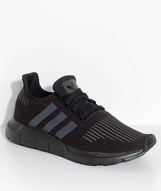 84b1380b7 adidas Swift Run Core   Utility Black Shoes