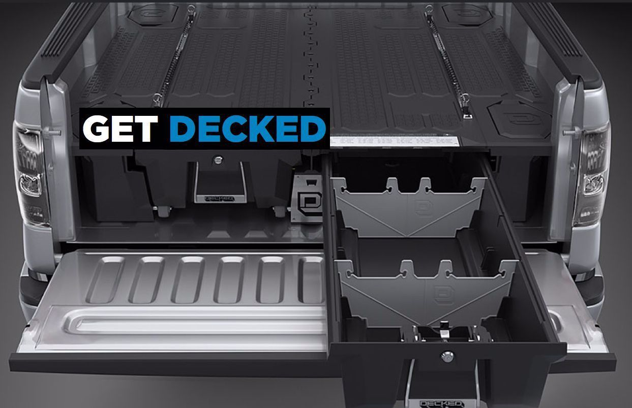 Decked Truck Bed Storage Review In 2020 Truck Bed Storage Decked Truck Bed Truck Bed