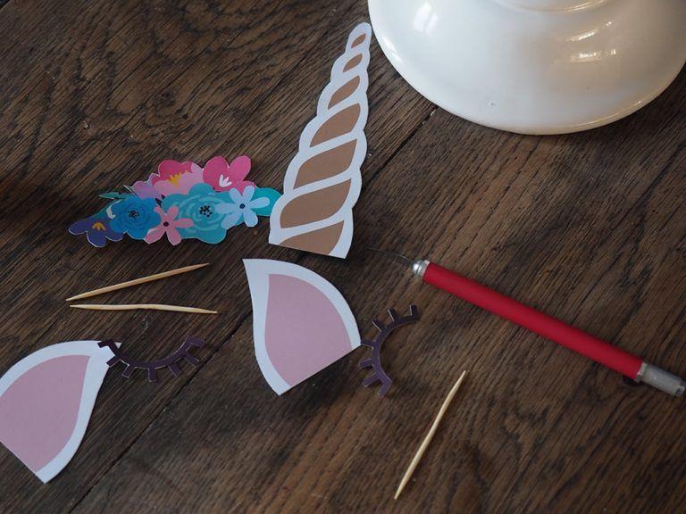 Gateau Licorne Recette Facile Fait Maison Cake Topper à