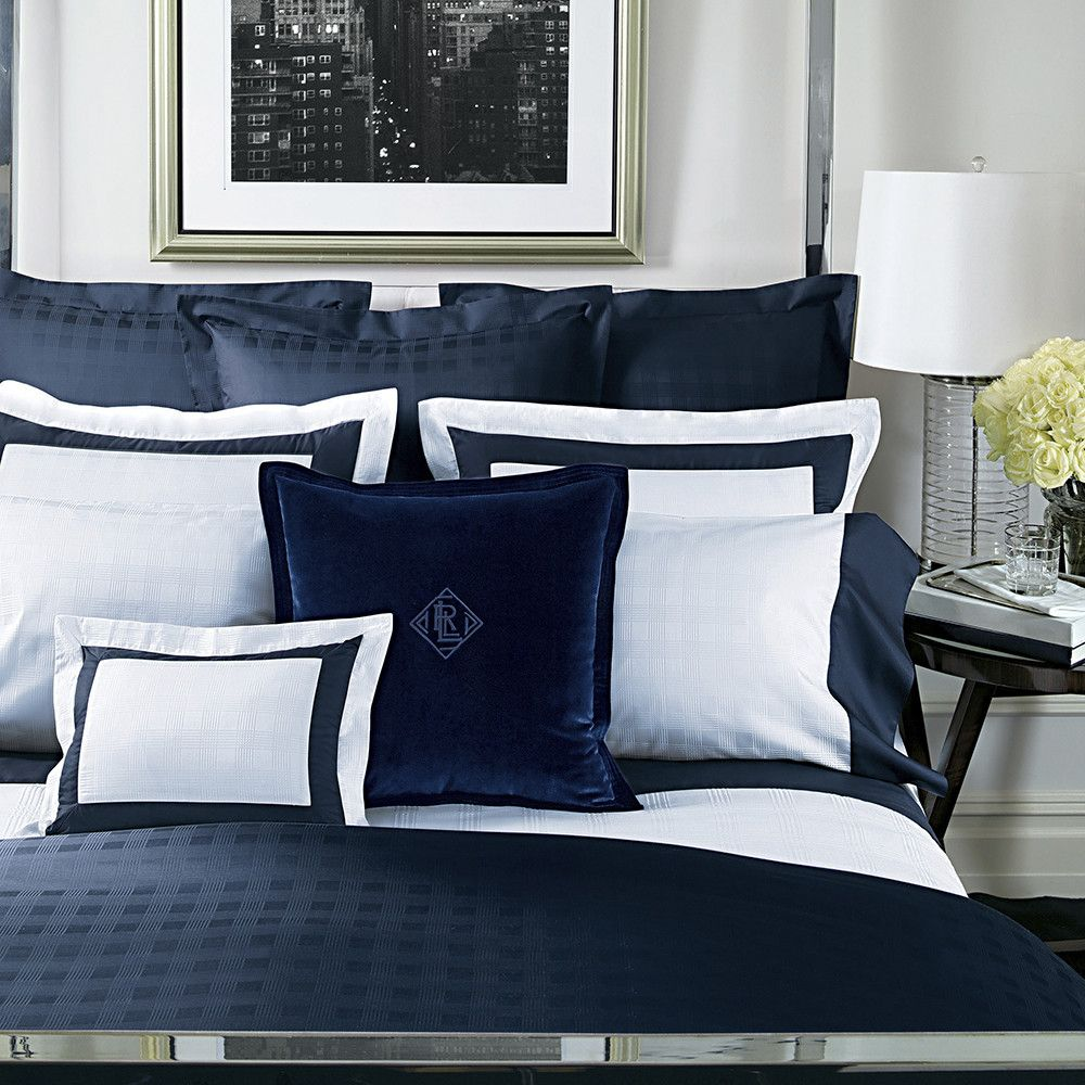 Velvet Pillow Cover 50x50cm Navy in 2019 Home Navy