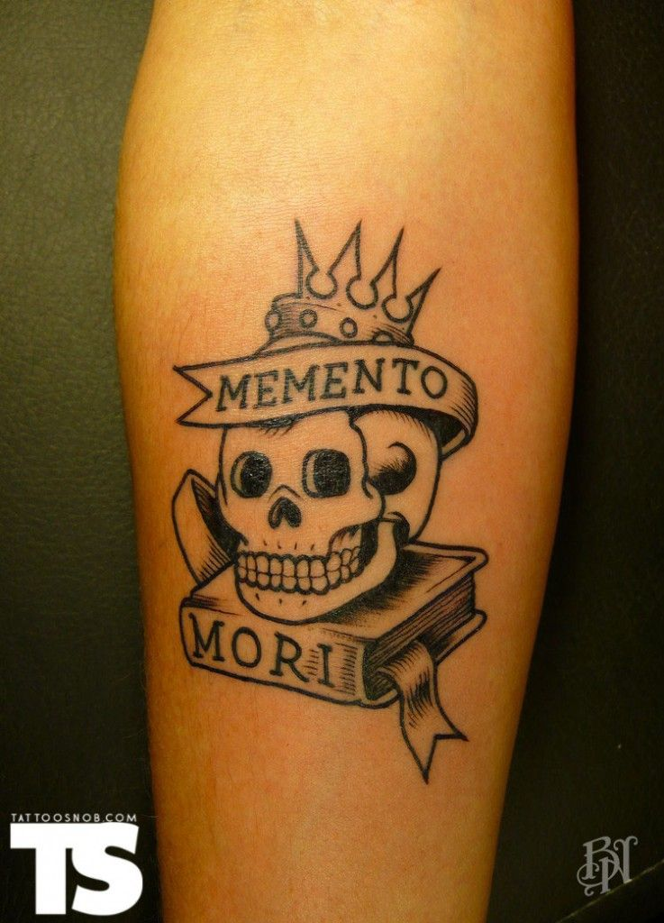 Veenom at Bleu Noir Memento mori tattoo, Tattoos
