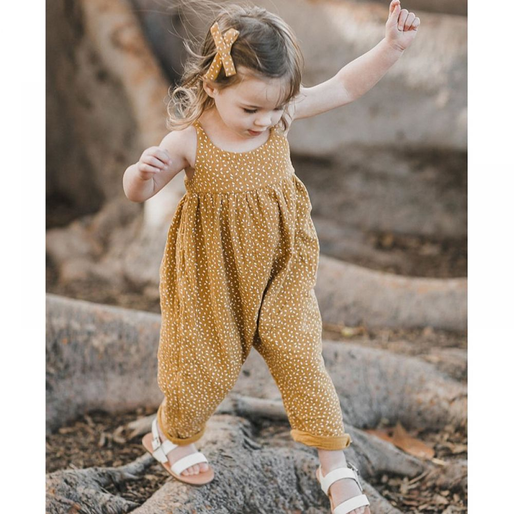 Kidshopedia Girls Rompers Kids Outfits Cotton Romper