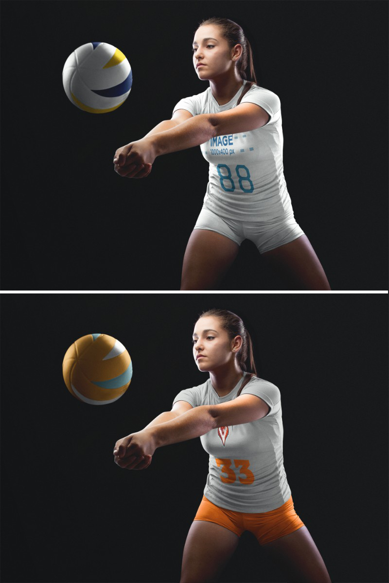 Volleyball Jersey Maker Girl Receiving The Ball Volleyball Jerseys Volleyball Jersey Design Professional Volleyball