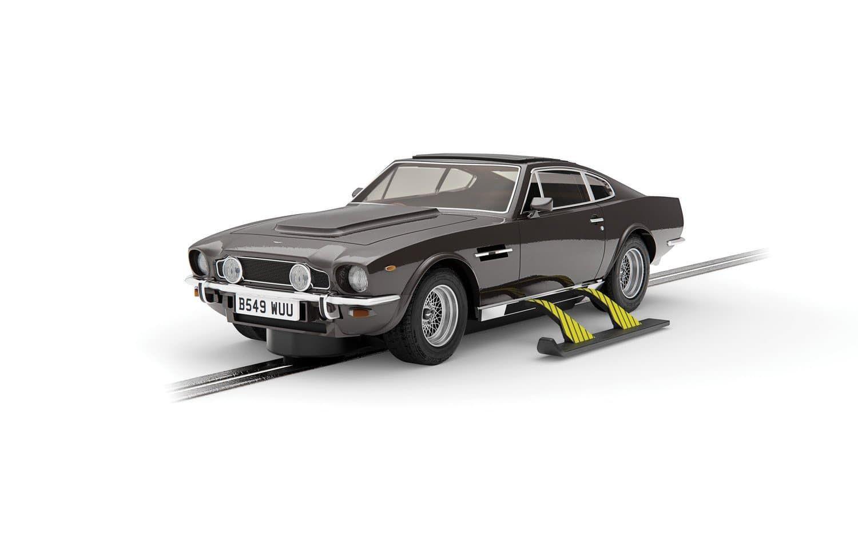 Scalextric James Bond Aston Martin V8 Slot Car - The Living Daylights Edition (Pre-order)