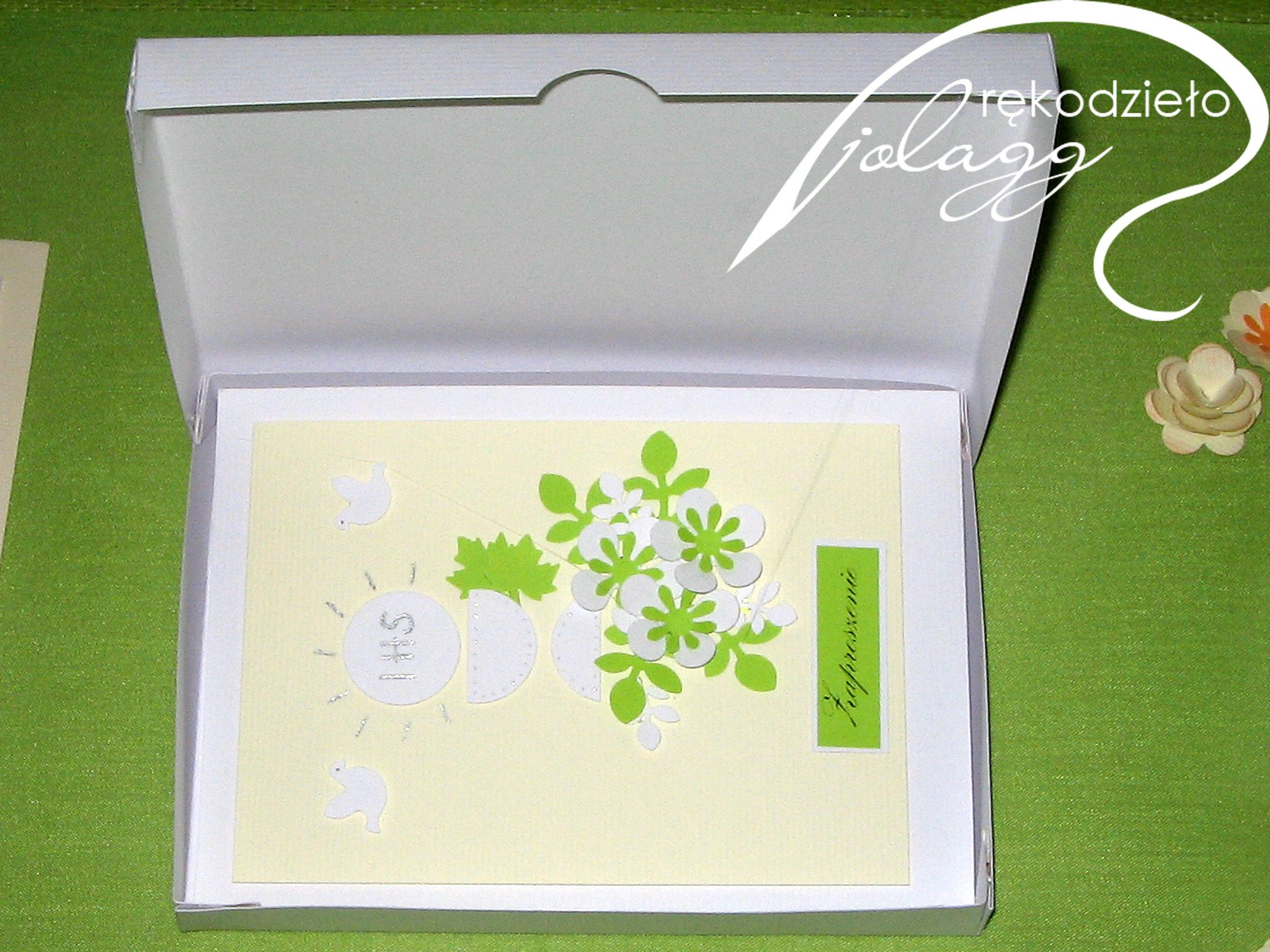 Comunión verde y blanco