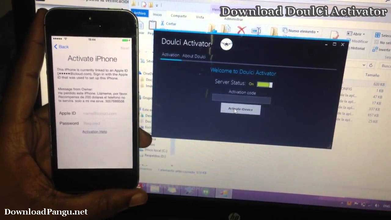 Remove iOS 8.1.2 iCloud activation lock permanently from