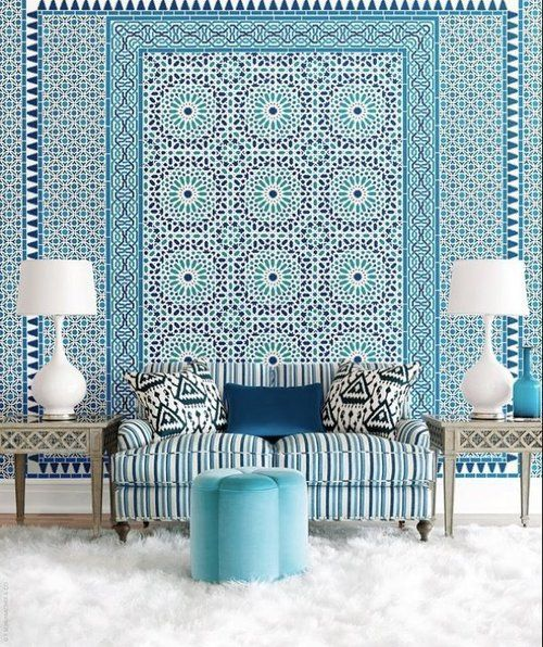 MOROCCO Style wallpaper by Schumacher