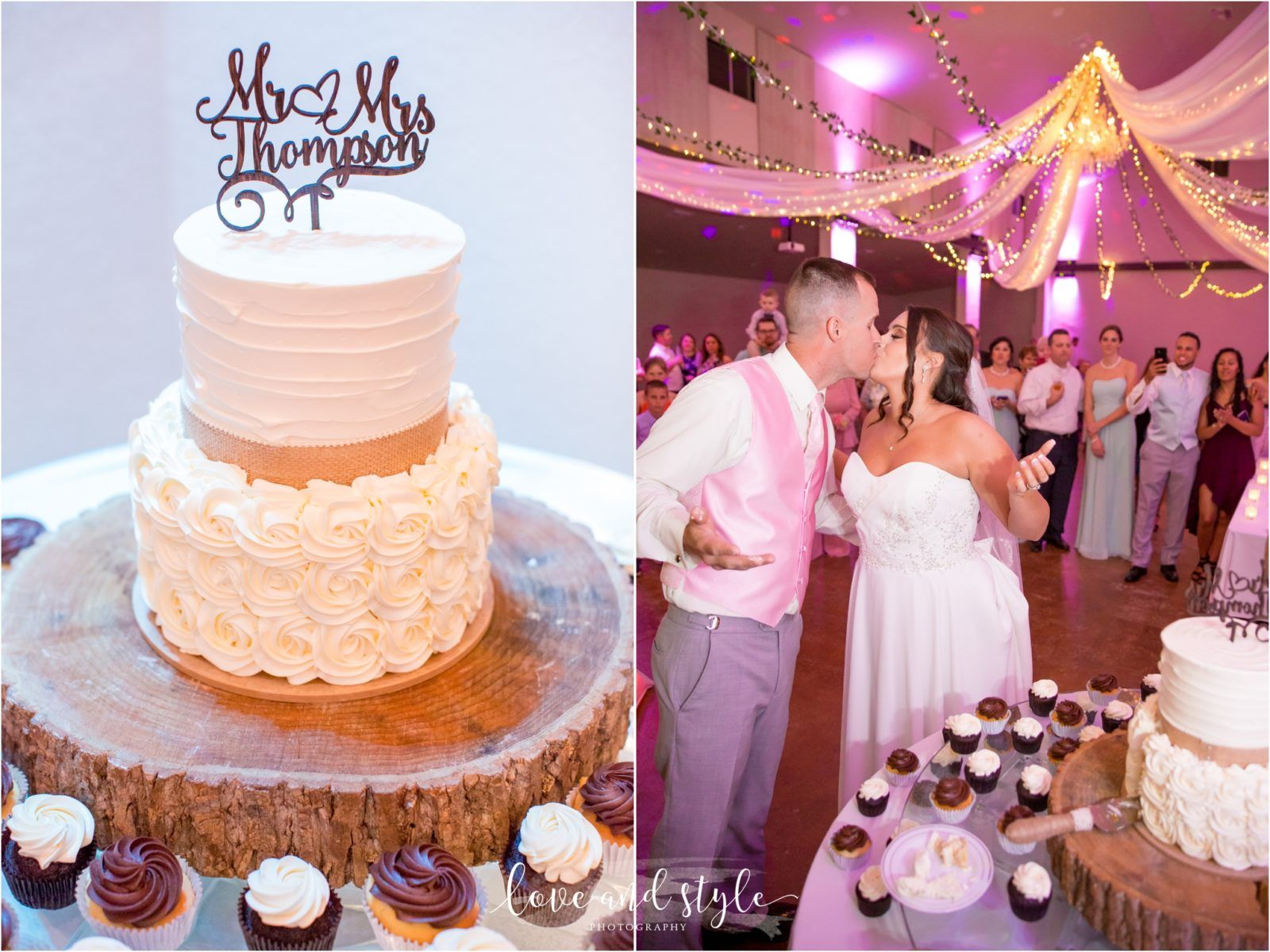 Bakers Ranch Wedding Love lock bridge bride and groom cutting the ...