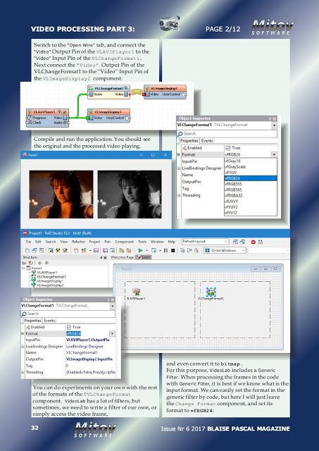 Mitov Software: My third Video Processing with Delphi article has