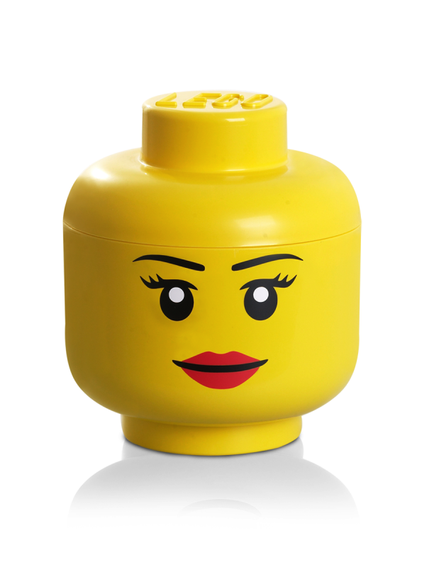 Movie Boy//Girl w//Classic Minifigure Smile NEW Lego EMMET MINIFIG YELLOW HEAD