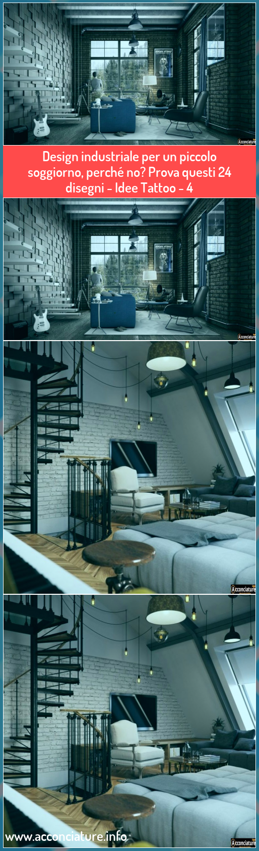 Photo of Design industriale per un piccolo soggiorno, perché no? Prova questi 24 disegni…