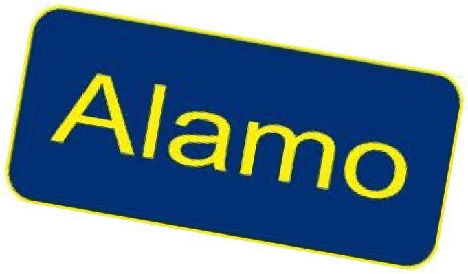 Simple Design Of Alamo Rental Car Logo Picture