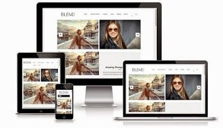 This Might Work Too Blend Blogger Template Blogger Templates Gallery Blogger Templates Responsive Blogger Template Free Blogger Templates
