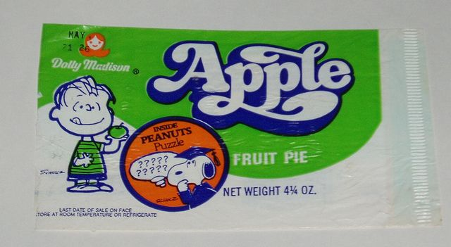 Peanuts Dolly Madison Pie Wrapper | Flickr - Photo Sharing!