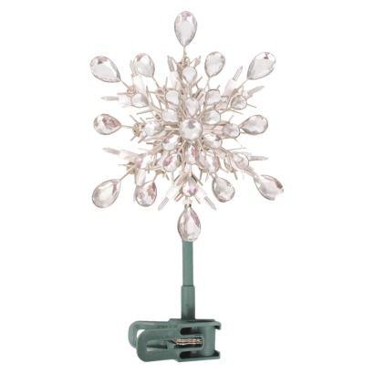 20Lt Clear Acrylic Snowflake Tree Topper. Find seasonal ...