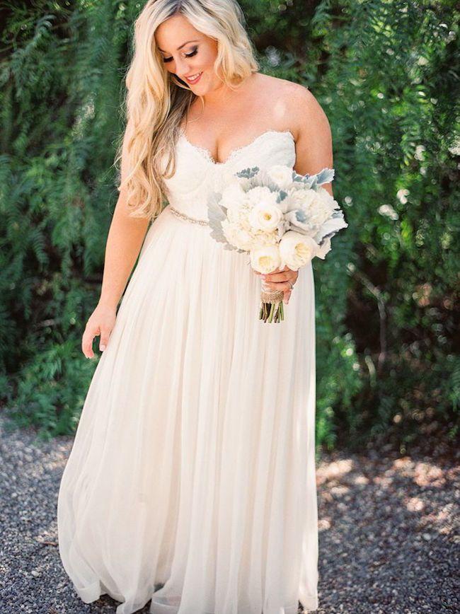 31 vestidos de novia para gorditas elegantes y actuales | weeding