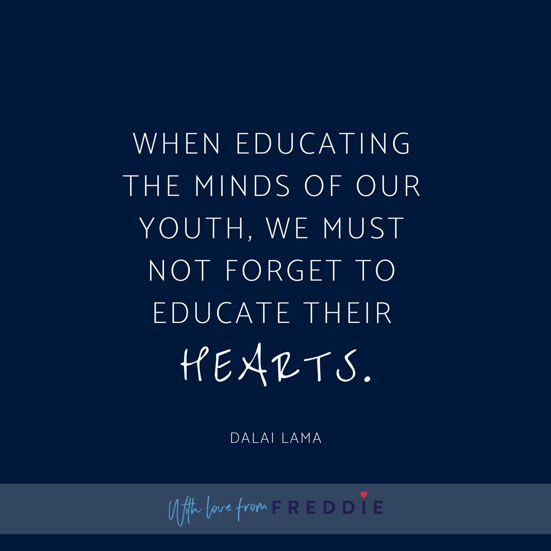 Dalai Lama Quotes About Education