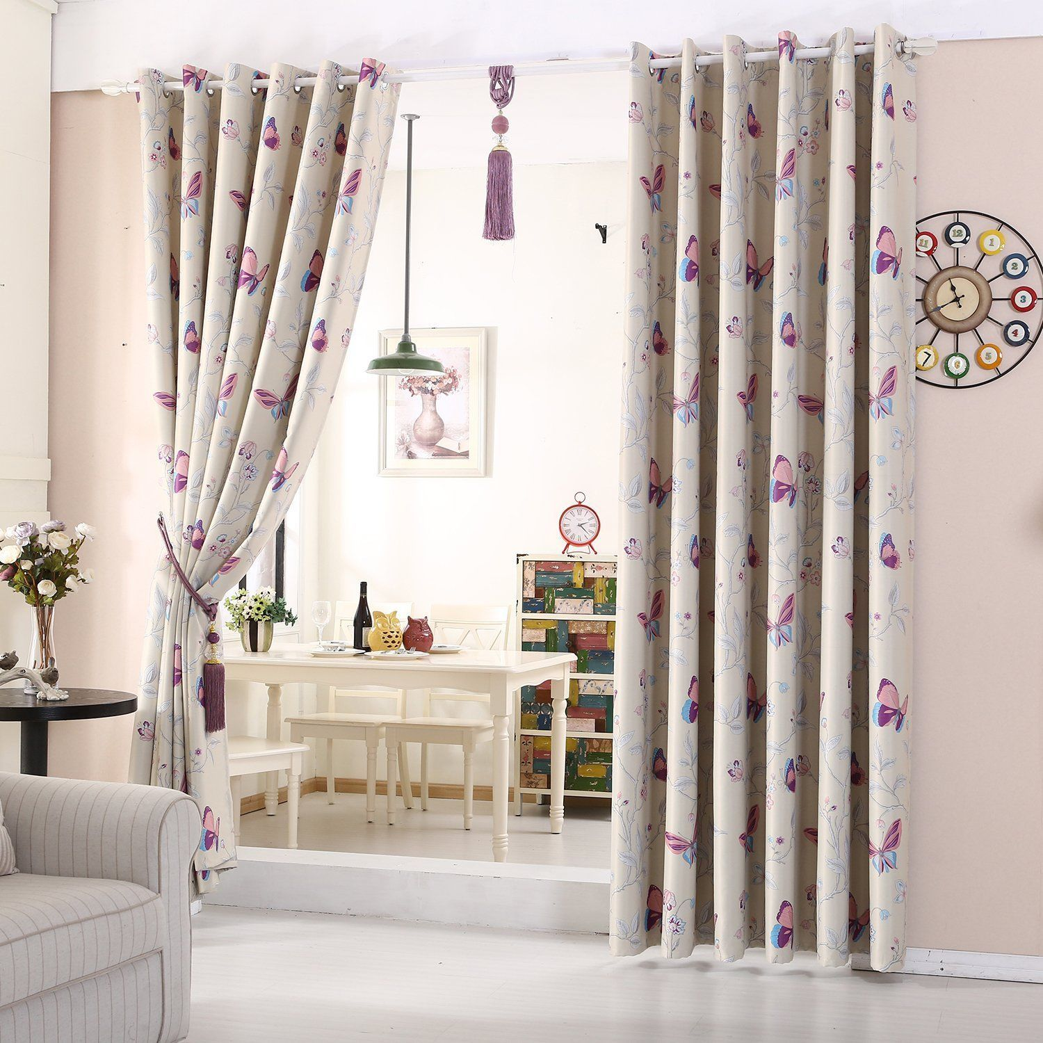 lovely butterfly curtains do you want a pair for your or your