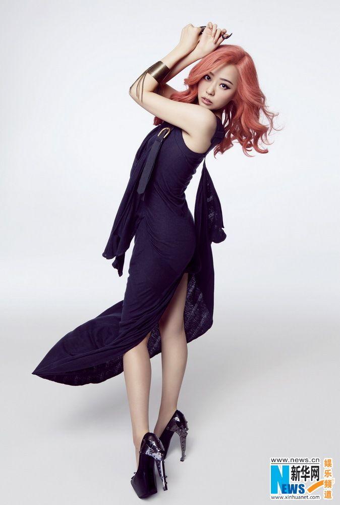 Chinese pop singer Jane Zhang