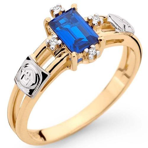 912a512461d53 anel-de-formatura-safira-azul   ADMINISTRAÇÃO   Pinterest   Anel de ...