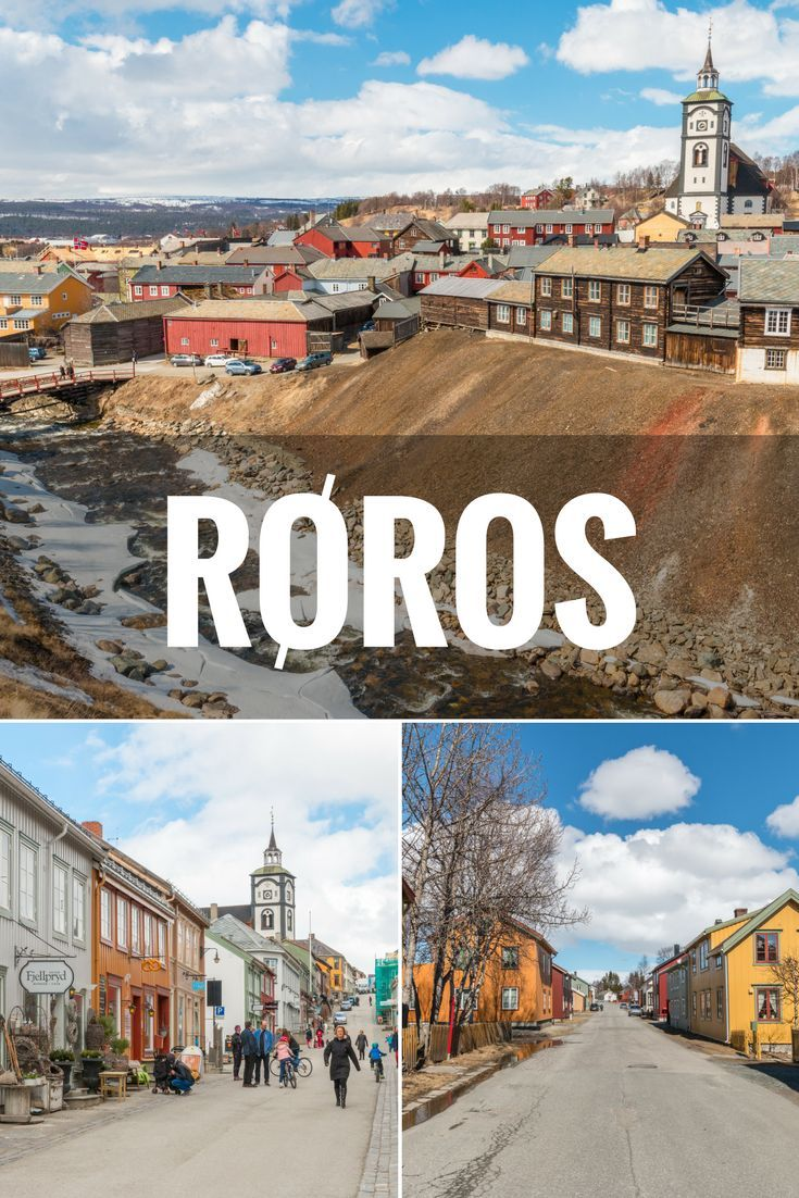 A day trip to Røros, Norway's historical mining town. Røros is a small town full of preserved wooden houses and a World Heritage site. Visit Norway and Røros.