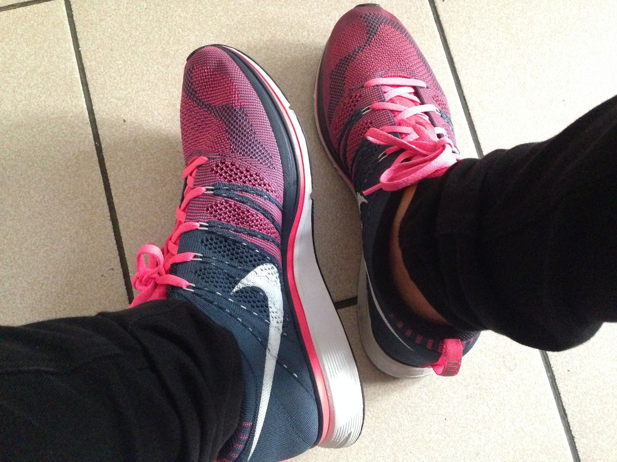 0c98cf4f7b80 Flyknit Trainer+ Squadron Blue  White- Pink Flash