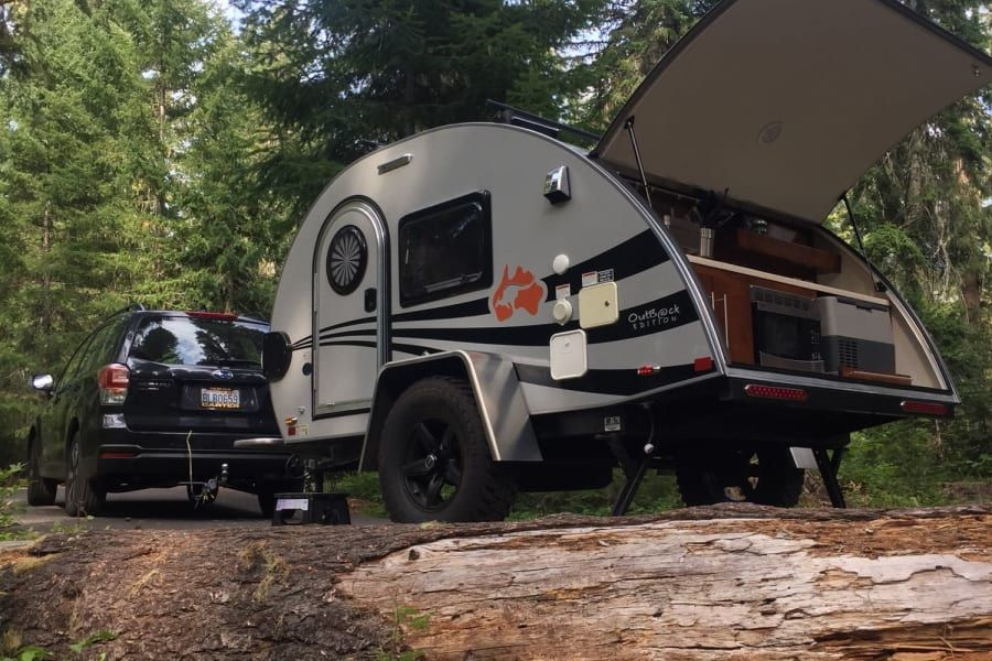 2018 nucamp tg outback xl trailer rental in seattle wa