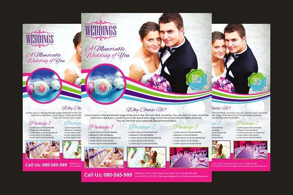 Wedding Event Planner Flyer  Wedding Event Planner Flyer