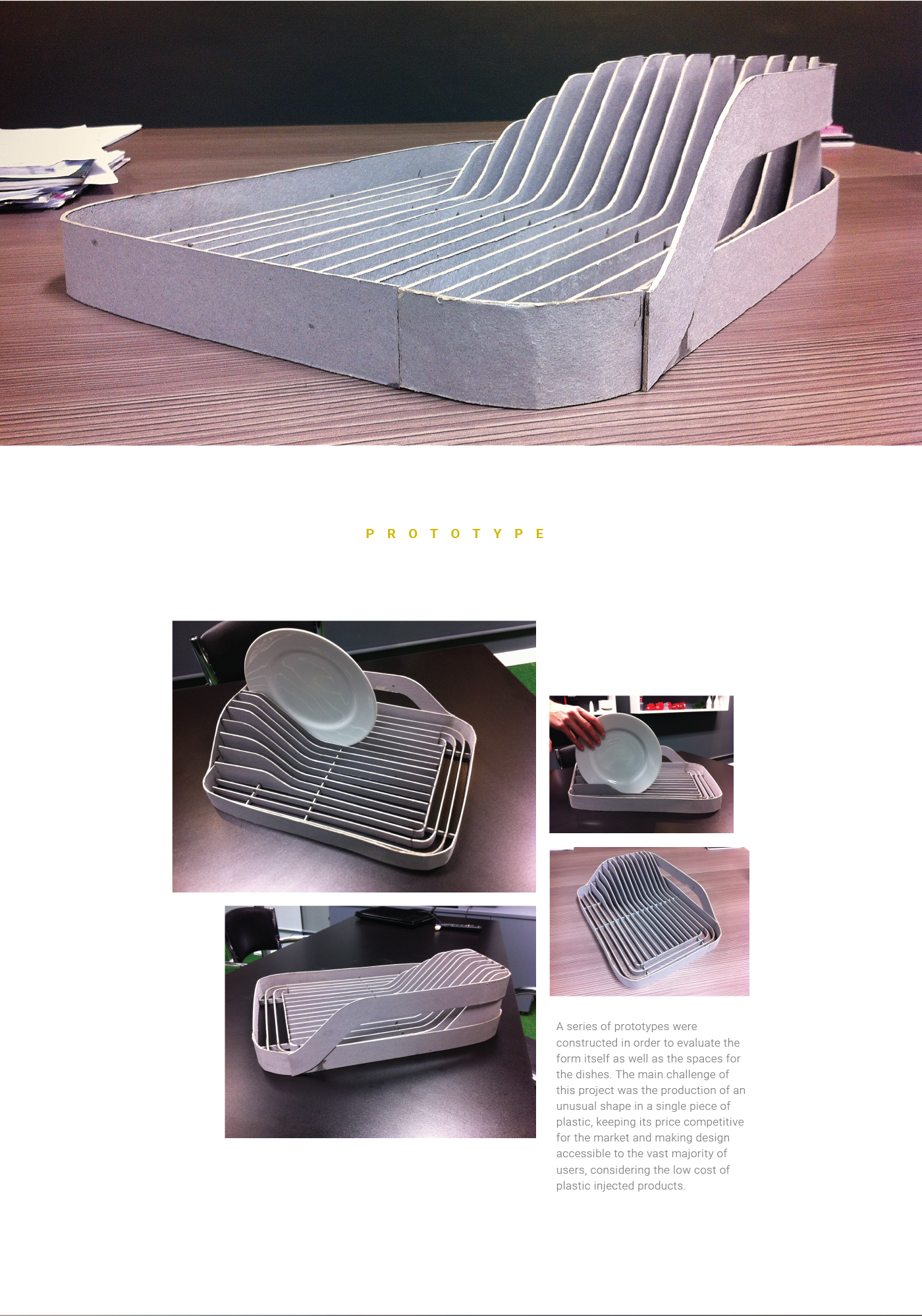 DISCOVERY DISH DRAINER on Behance