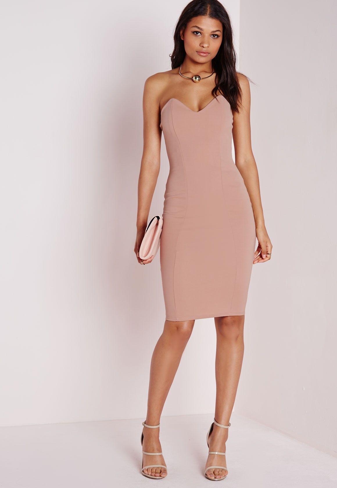 Mode robe bustier longue
