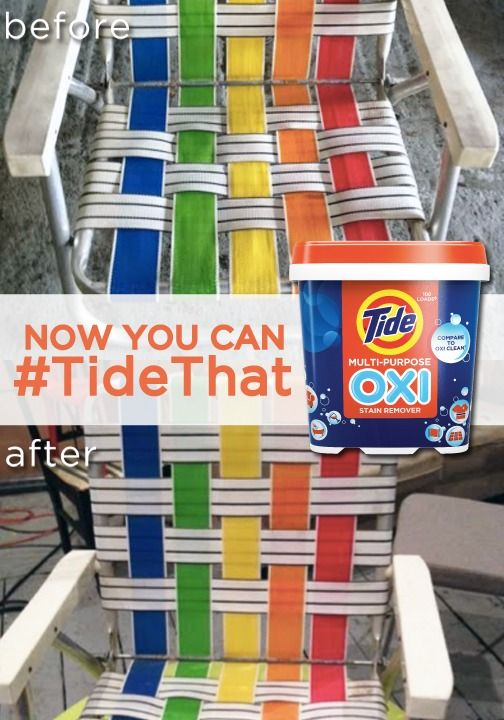 Bringing The Cleaning Power Of Tide To Every Room Of Your House Before After Of Using Tide Oxi On A Be Cleaning Tide Laundry Detergent Laundry Detergent Tide