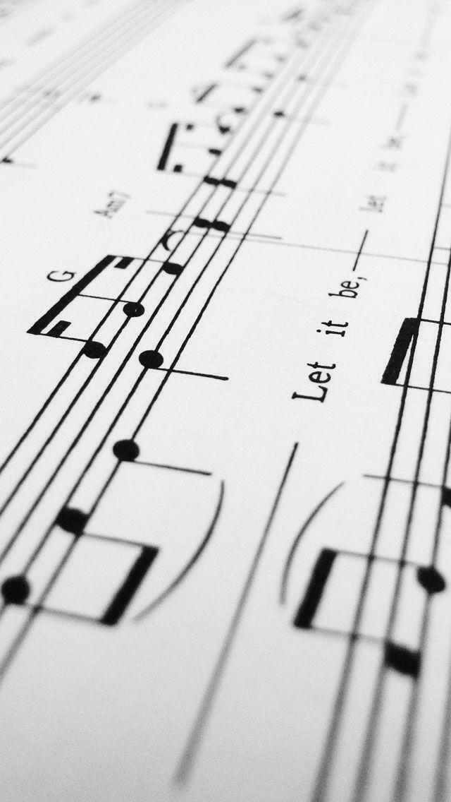 Lyric let it be the beatles lyrics : Let it be The Beatles sheet music iPhone 5 wallpaper | The Beatles ...