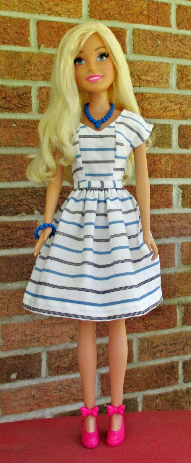 Black History Dress for 28-inch Doll