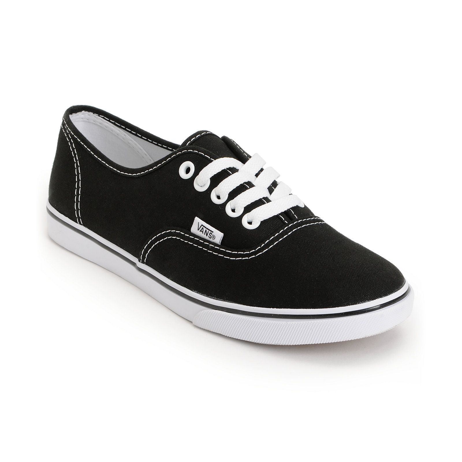 Vans Girls Authentic Lo Pro Black Shoe at Zumiez   PDP 6d9be2c62