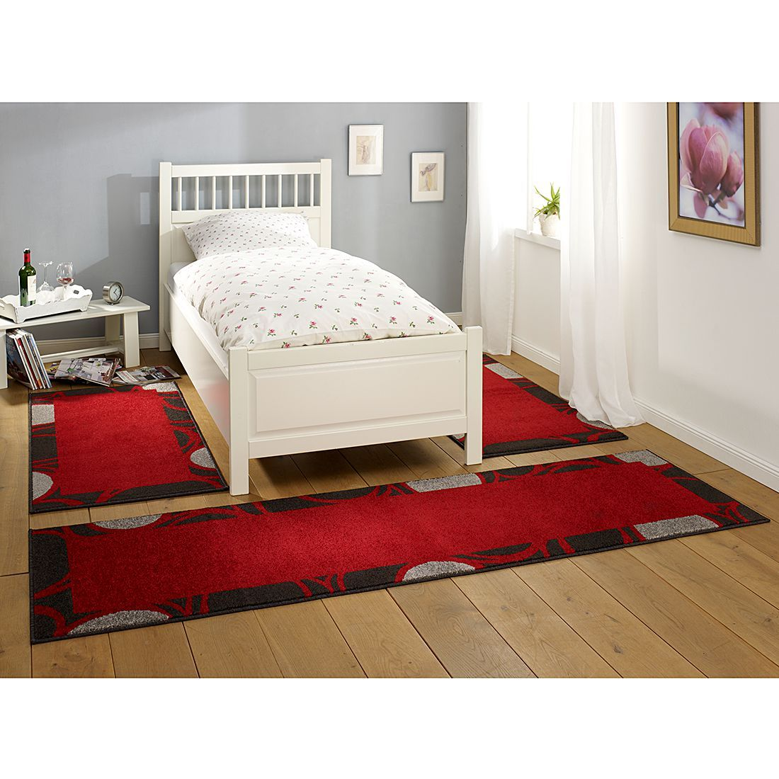 Lit Pas Cher Lit Places Lit Adulte Lit Moderne Design Lit - Lit adulte rouge
