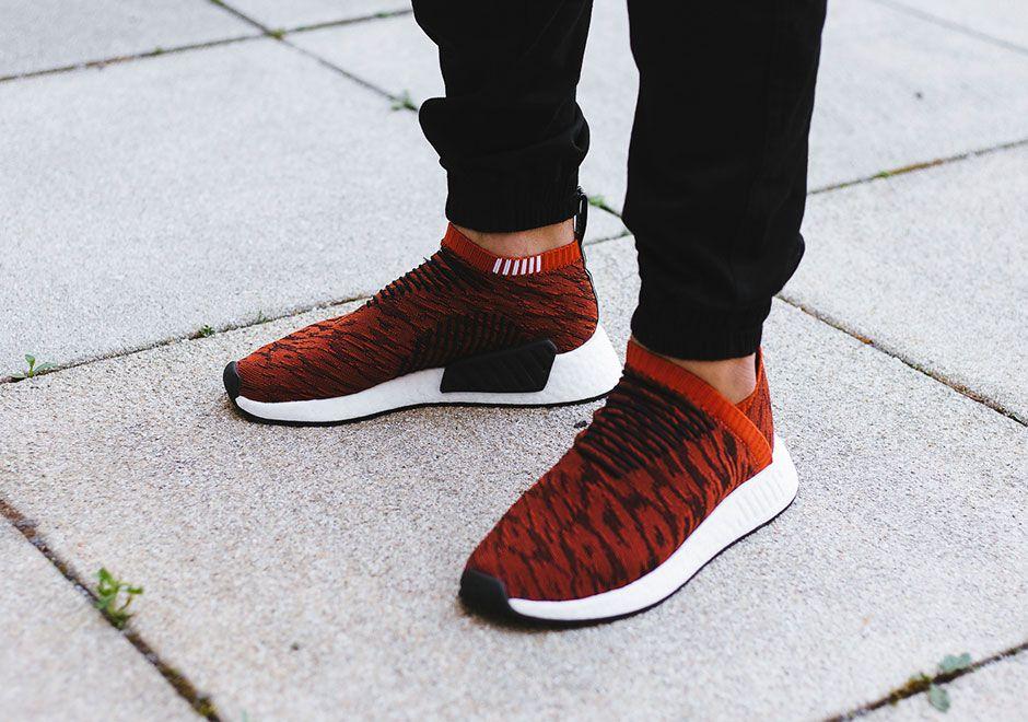 adidas Originals NMD CS2 PK City Sock Primeknit Boost black red BY9406