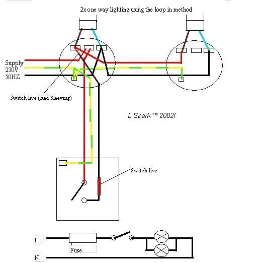 Electrics:Single way lighting in 2020 (With images ...