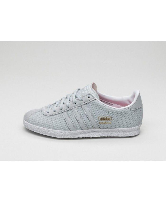adidas trainers shoes womens gazelle og w grey
