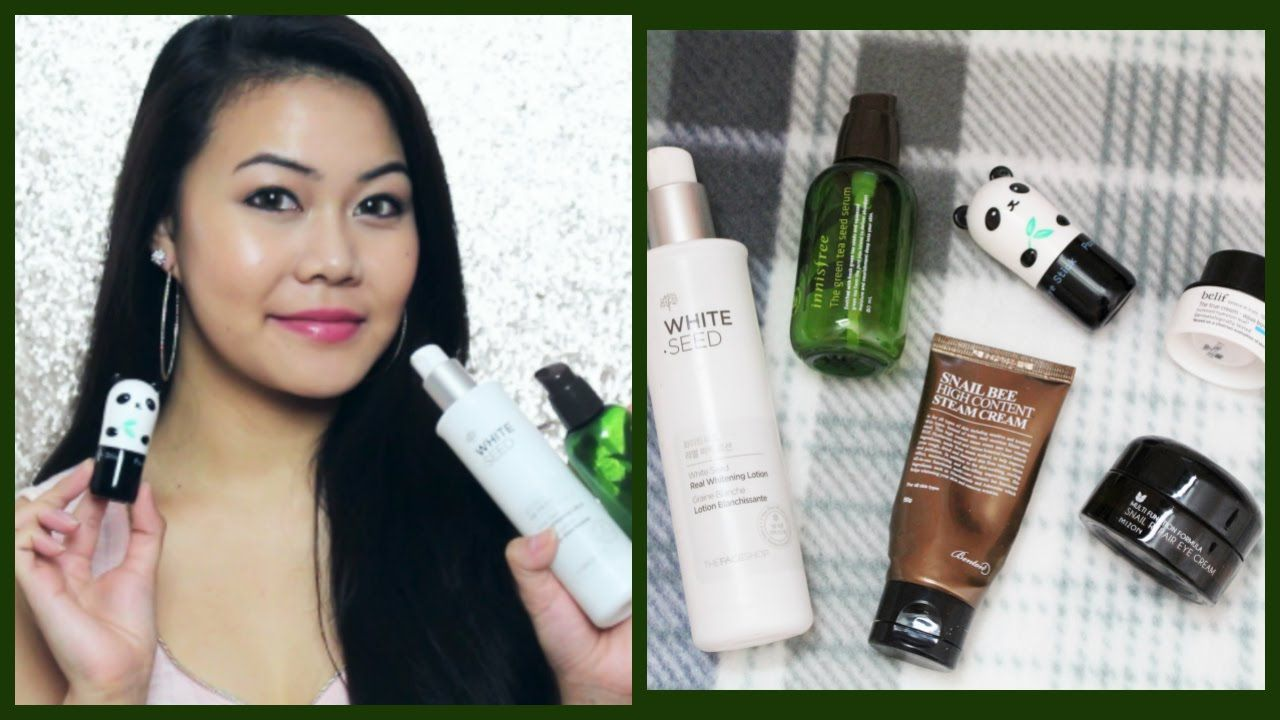 Korean Skincare Products Review! Innisfree,