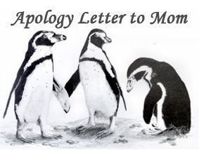 Writing a Apology Letter to Mom Sample Apology Letter How to